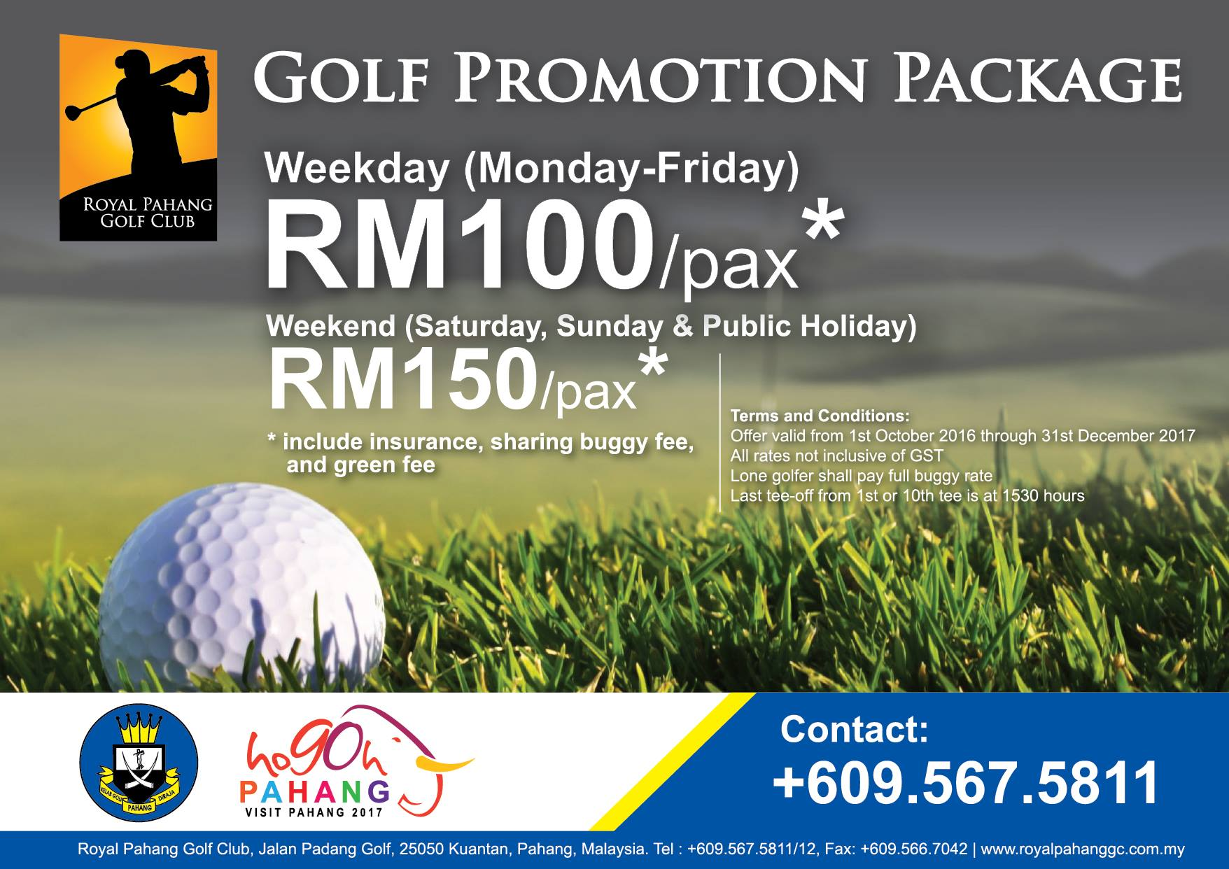 Visit Pahang 2017 Promotions